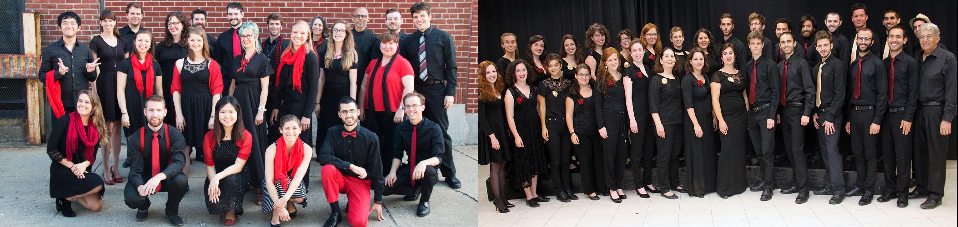 """מפגש מקהלות – המקהלה הקאמרית שליד האקדמיה ומקהלת 'קולות המאה ה-21' מארה""""ב"""