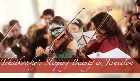 Tchaikovsky's Sleeping Beauty Flash Mob in Jerusalem
