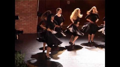 ריקודים בלקניים - מתוך מופעי 75 שנה לאקדמיה Balkan Dance