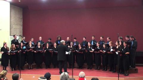 המקהלה הקאמרית - JAMD Chamber Choir - Joshua